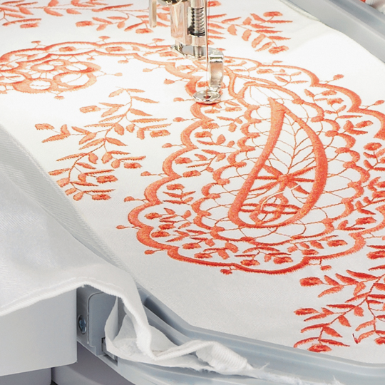 Enjoy embroidery at its best