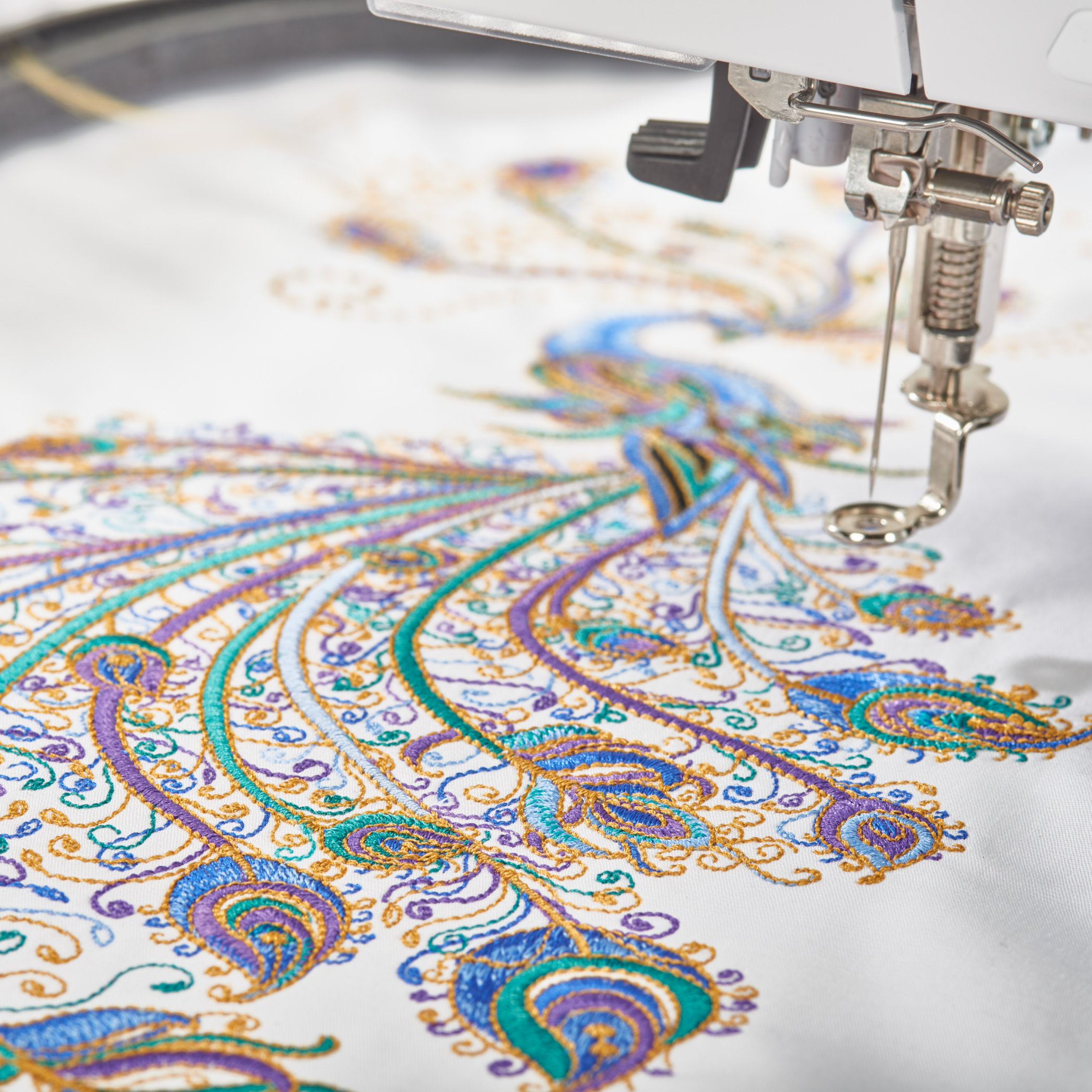 Beautiful embroidery every time