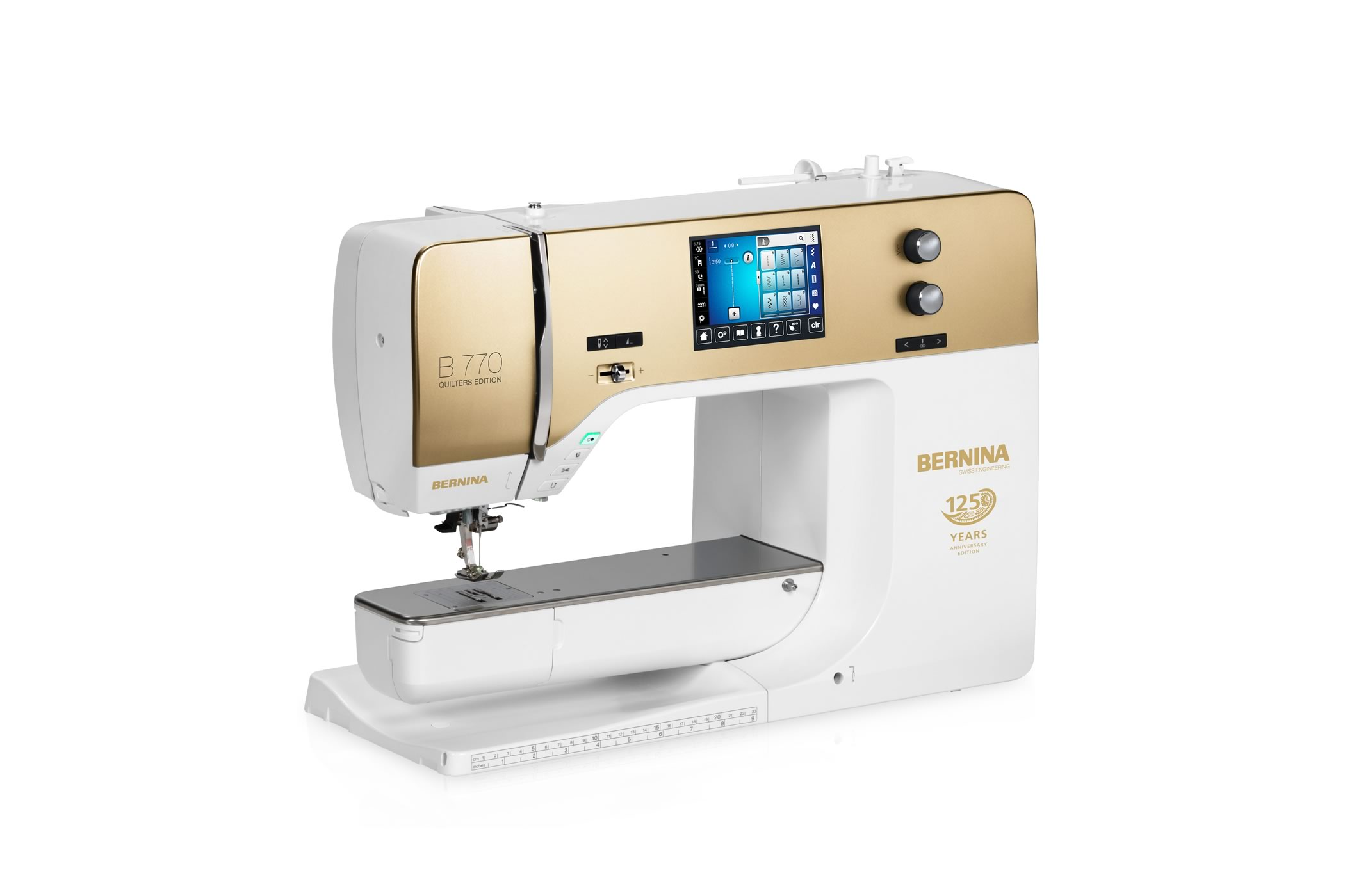 BERNINA 770 QE jubileumeditie