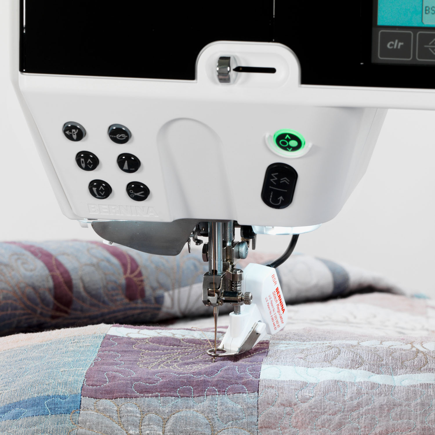BERNINA Stitch Regulator for an even stitch pattern