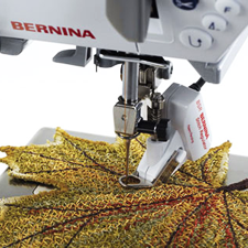 BERNINA Stitch Regulator for perfect free-motion stitching
