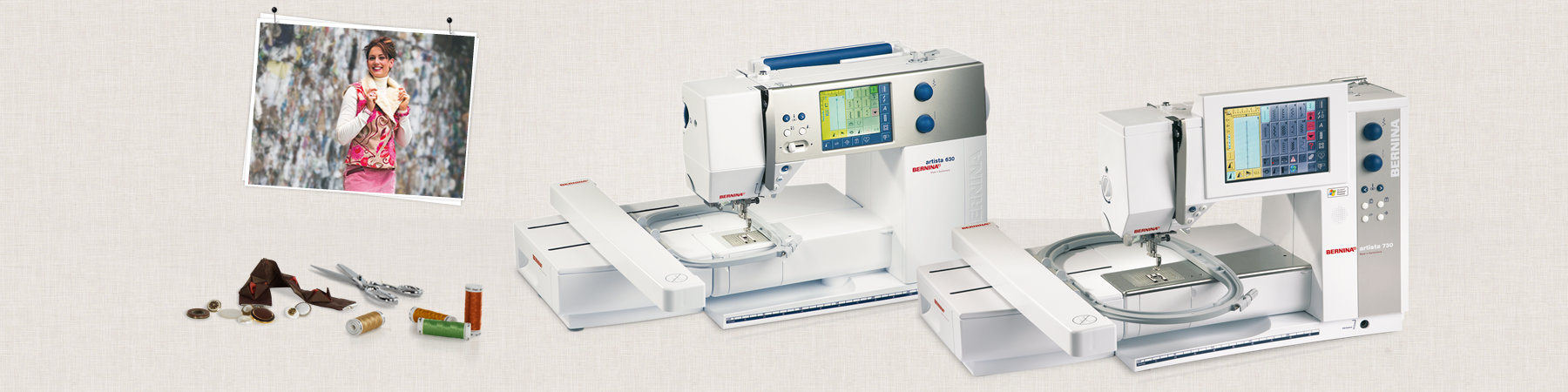 Picture: BERNINA artista