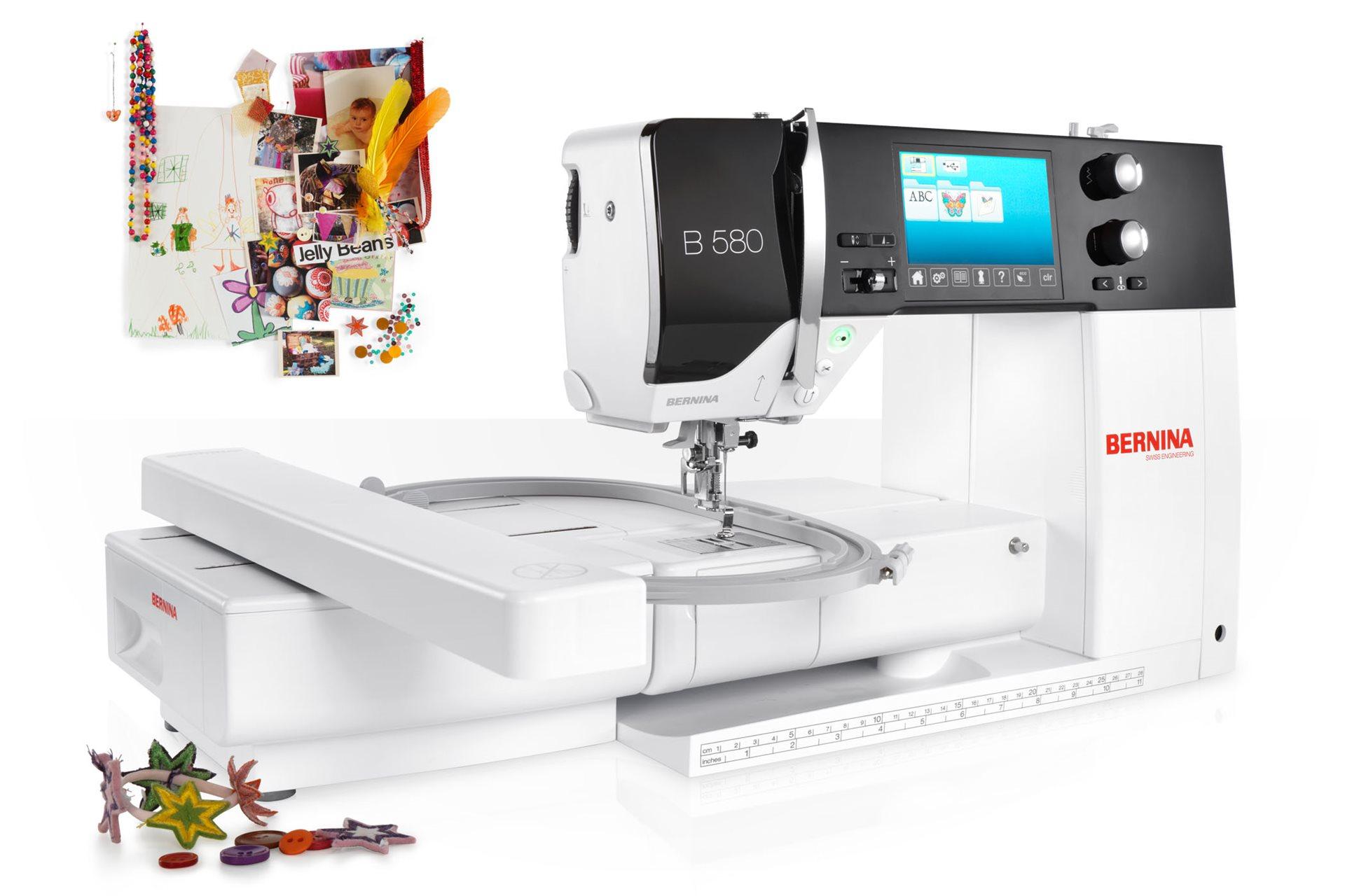 Mit der Nähmaschine kreativ gestalten: BERNINA-Qualitätsprodukte ...