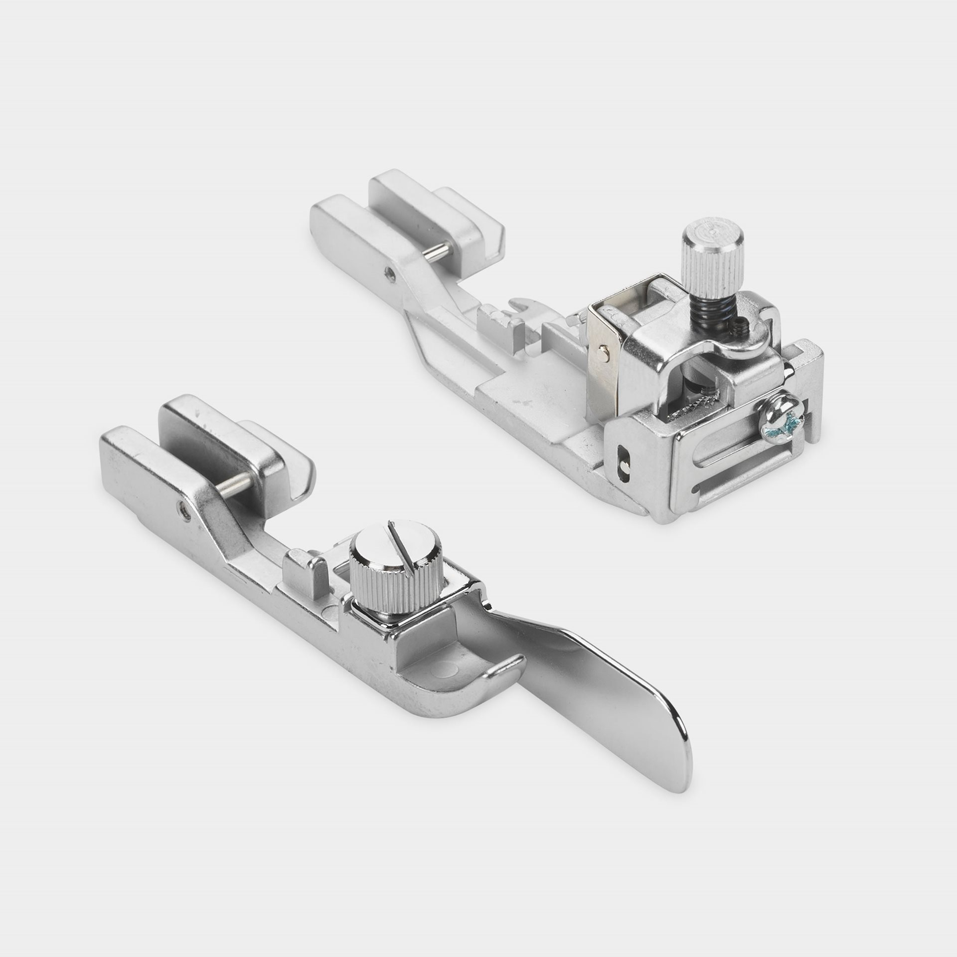 Elasticator foot and Blindstitch foot included as standard