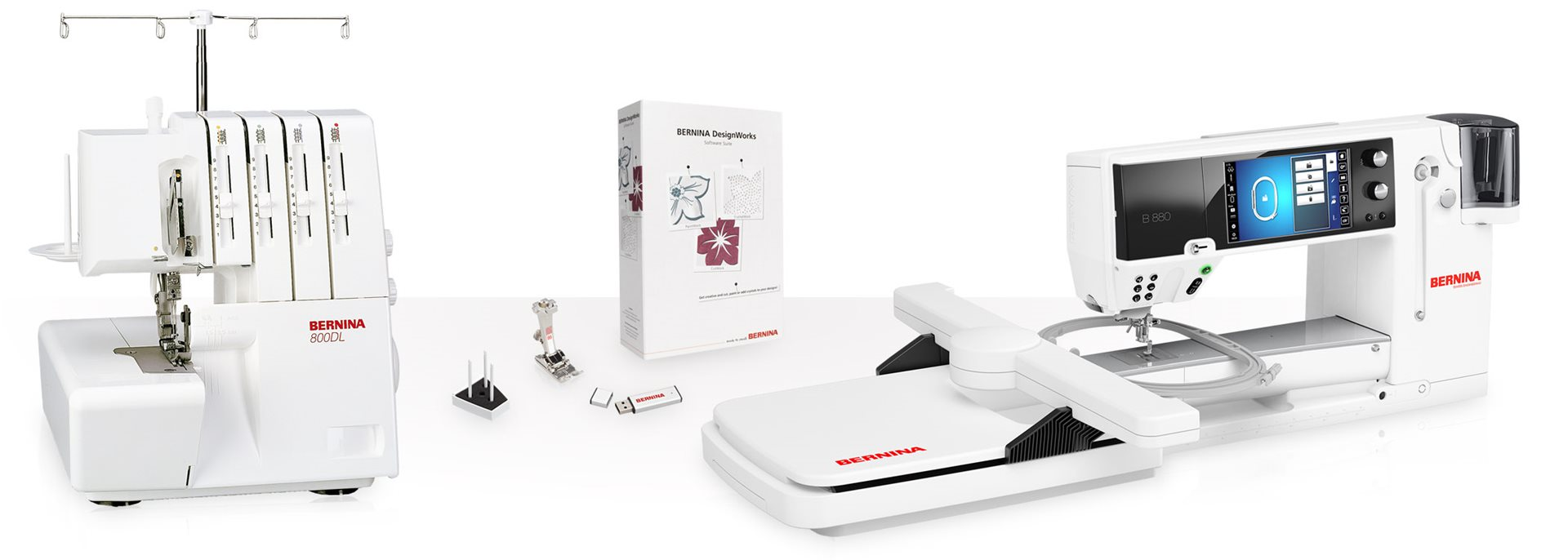 Picture: BERNINA products