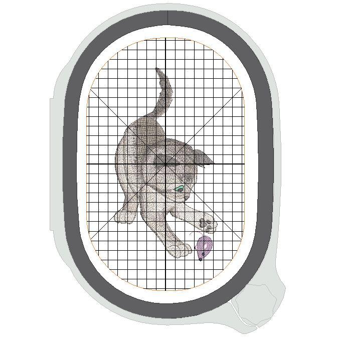 Hoop Template Display