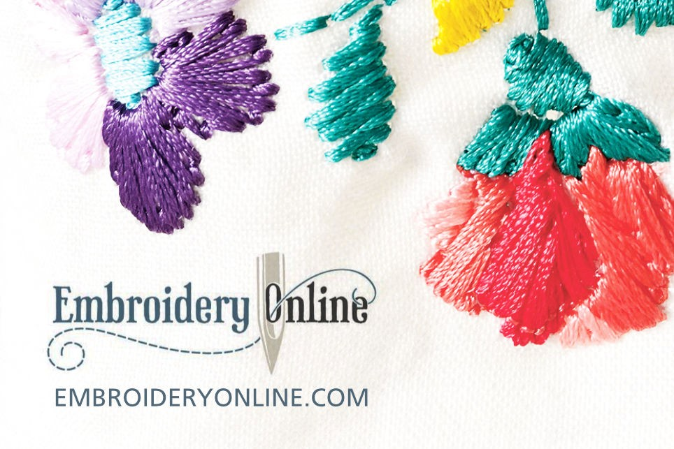 Buy embroidery designs - embroideryonline.com
