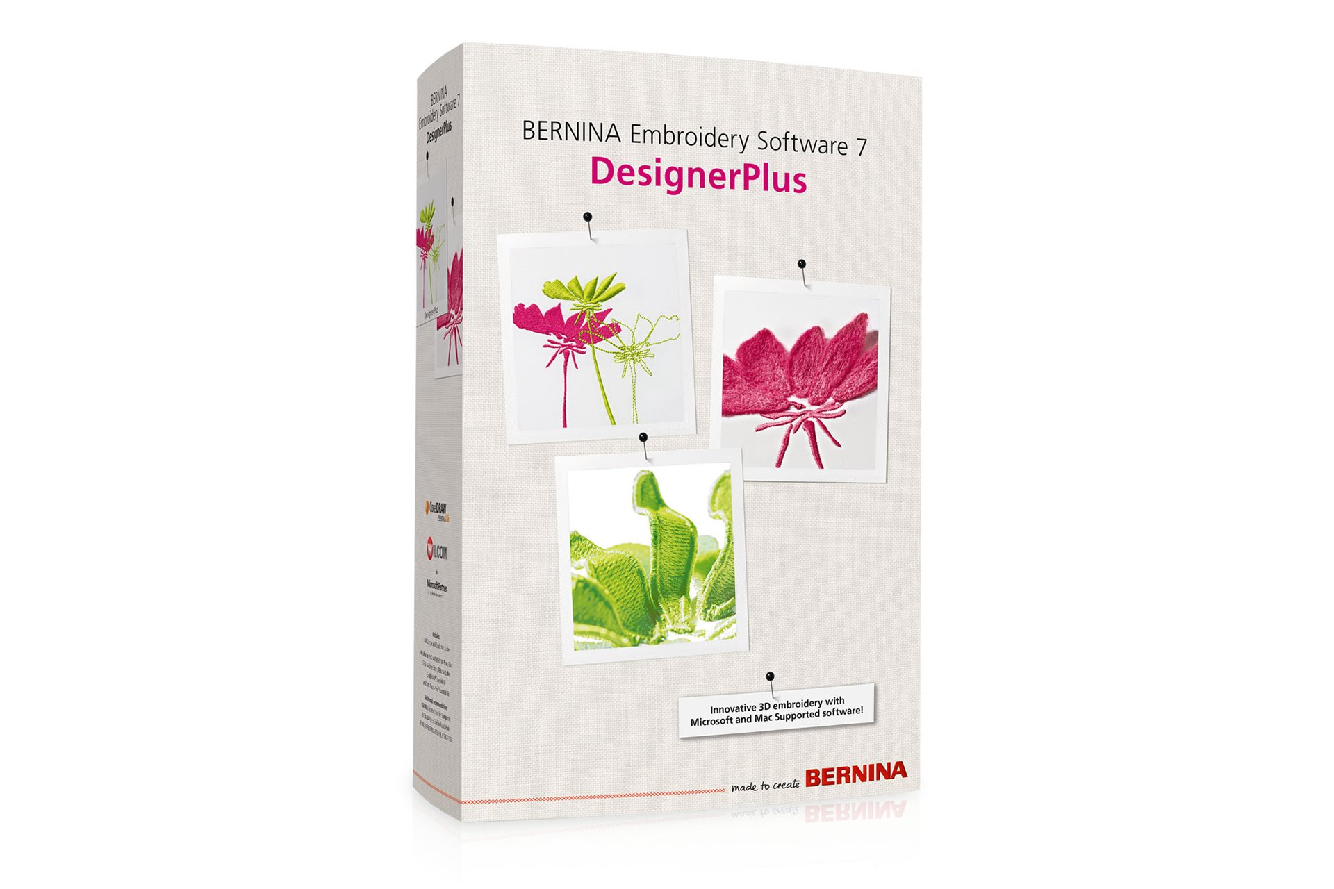BERNINA Embroidery Software 7 – DesignerPlus