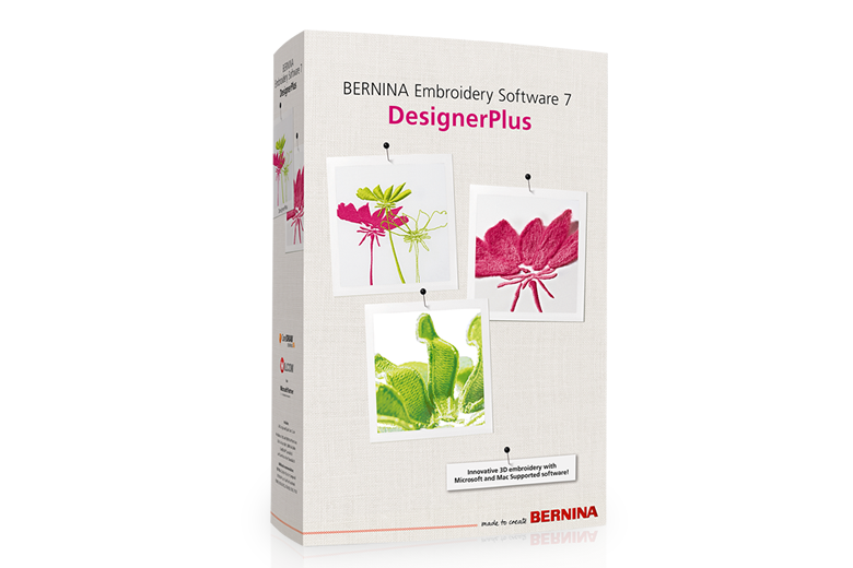 Bild: Embroidery Software 7 – DesignerPlus