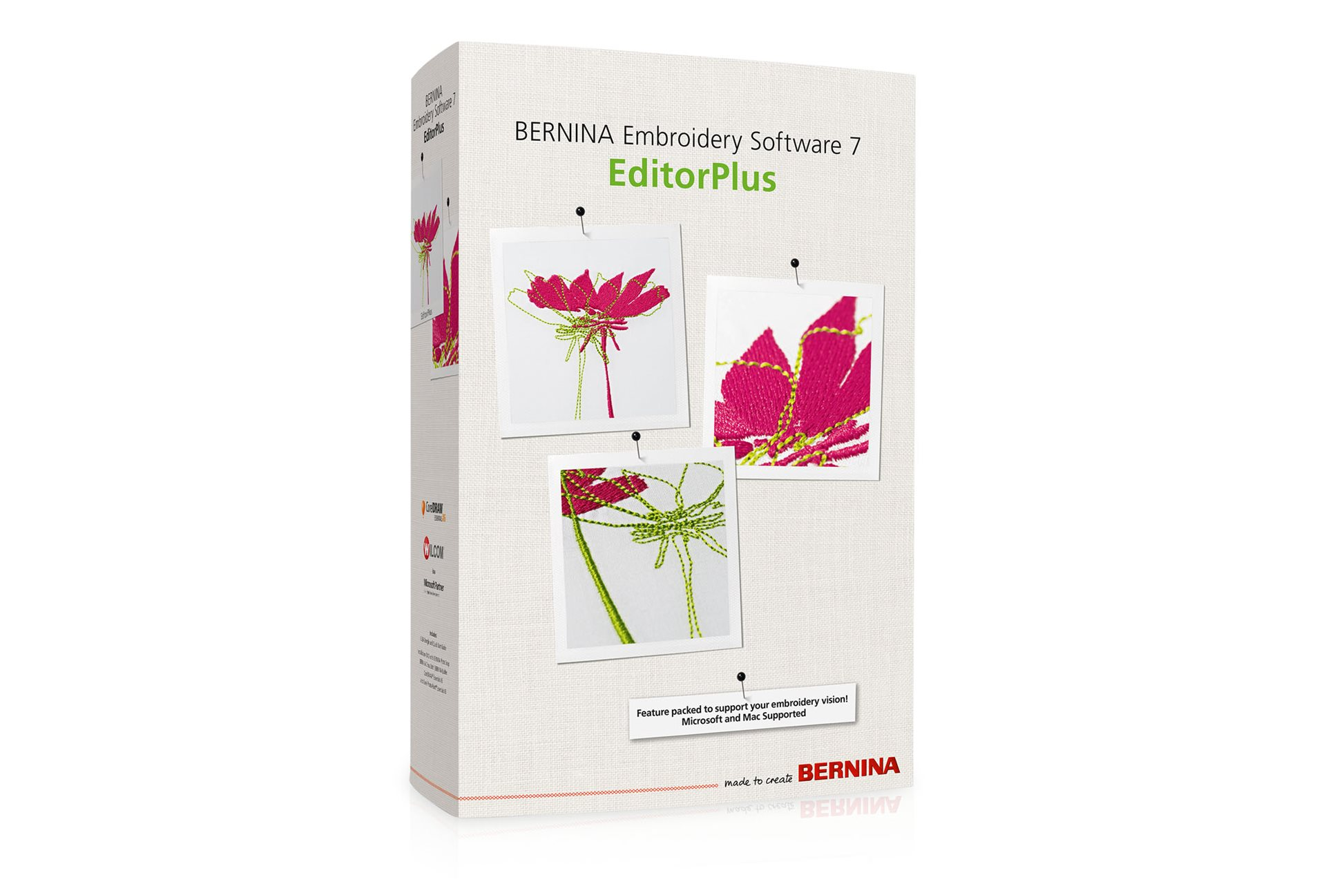 Embroidery Software 7 – EditorPlus