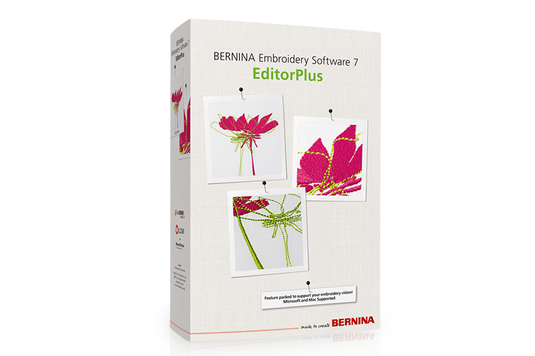 Picture: Embroidery Software 7 – EditorPlus