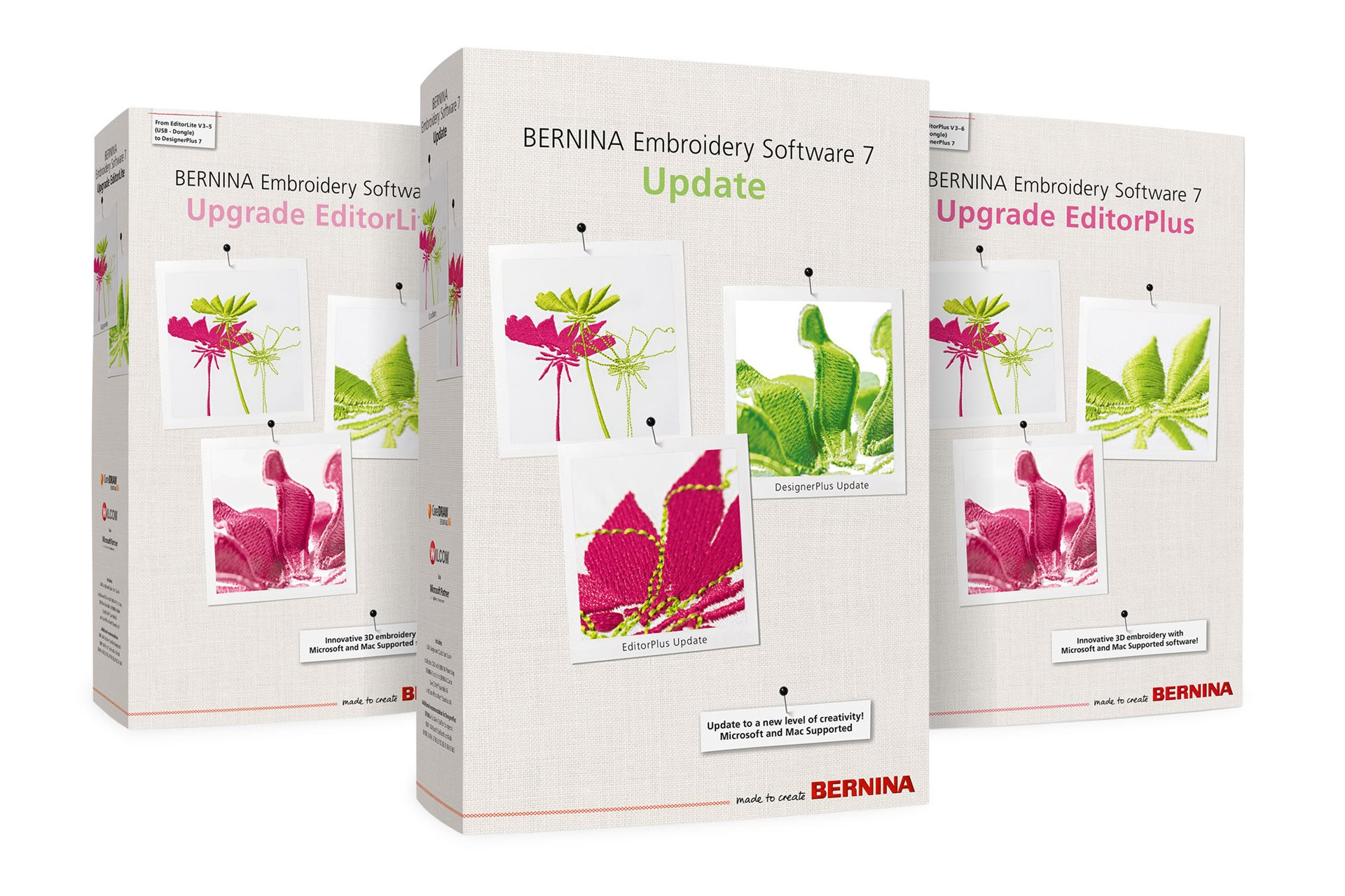 Embroidery Software 7 – Upgrade EditorPlus/ EditorLite & Update