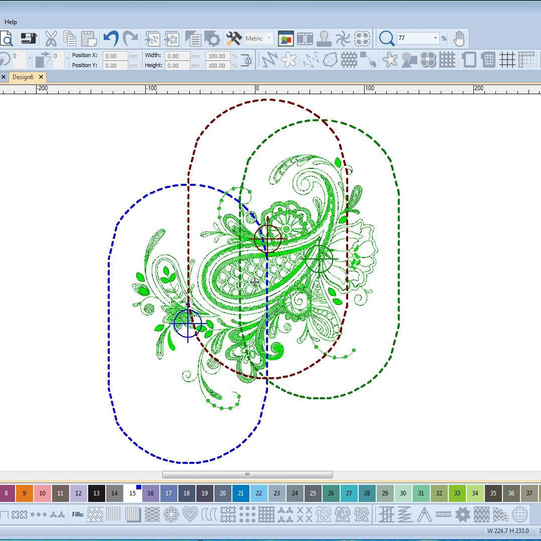 bernina embroidery software 8 designerplus bernina multi hooping