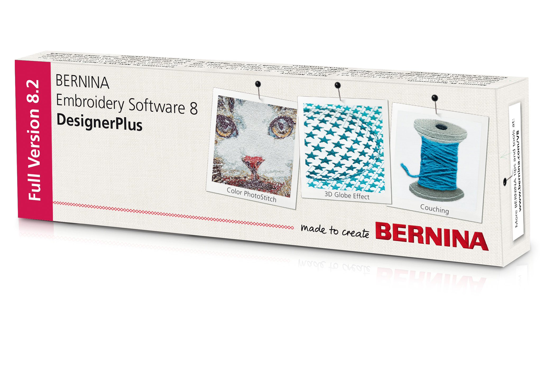 BERNINA borduursoftware 8 – DesignerPlus