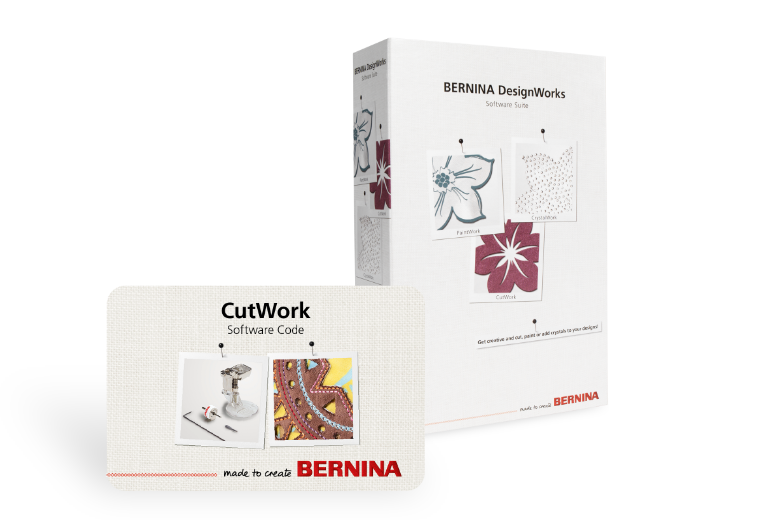 Bild: Software CutWork de BERNINA