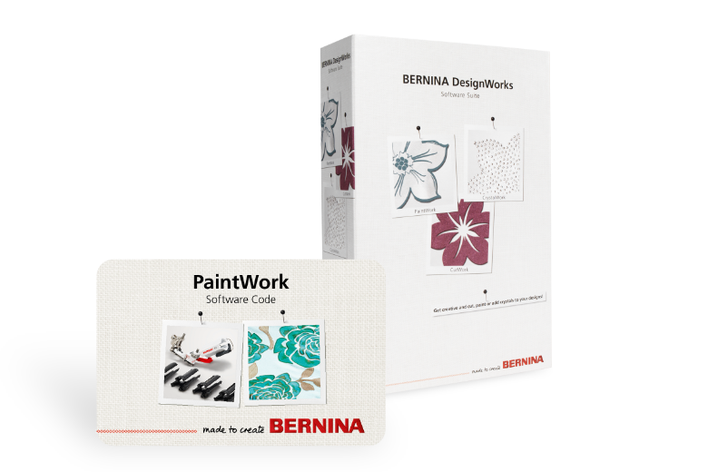 Bild: Software BERNINA PaintWork