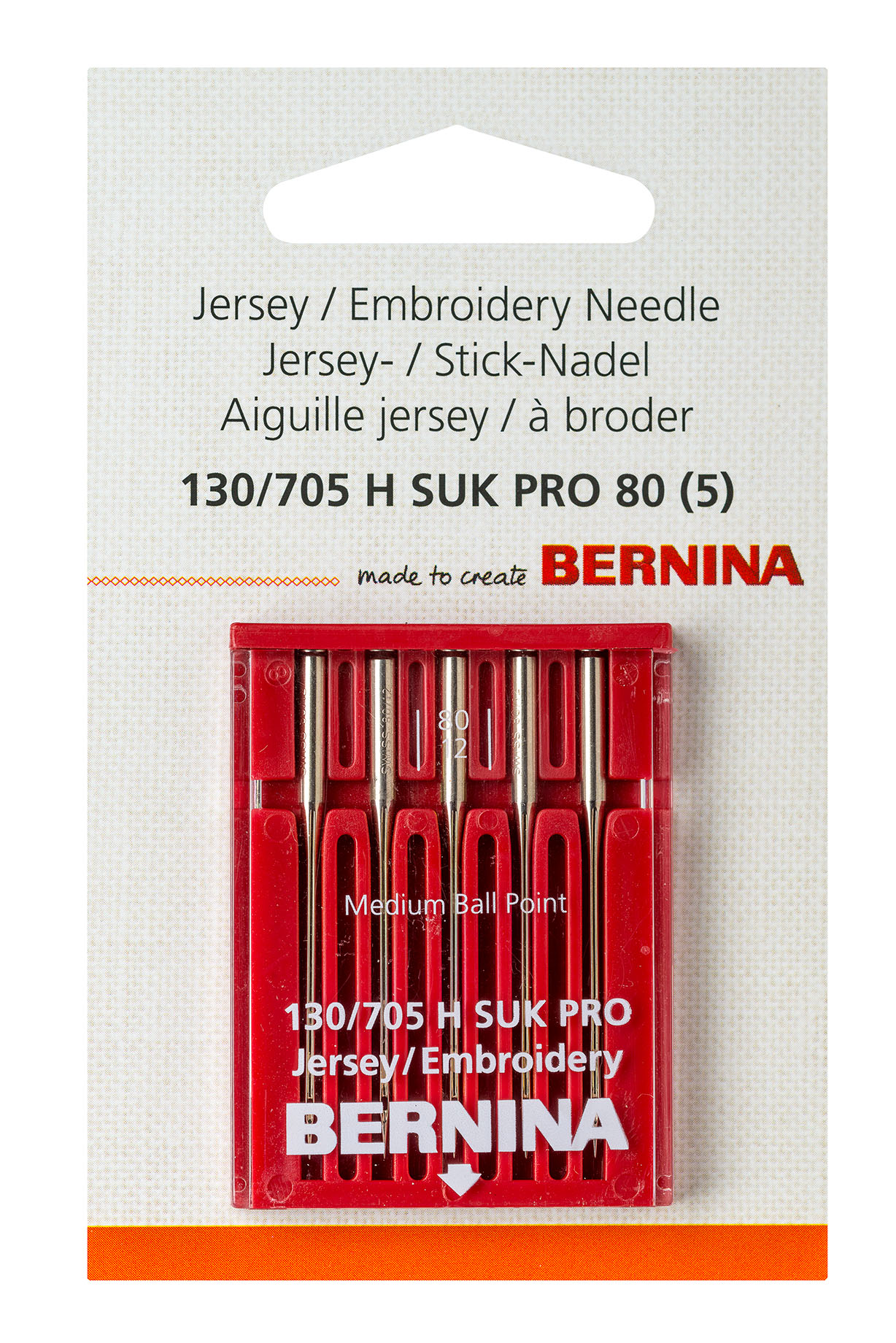 Jersey / embroidery PRO needle
