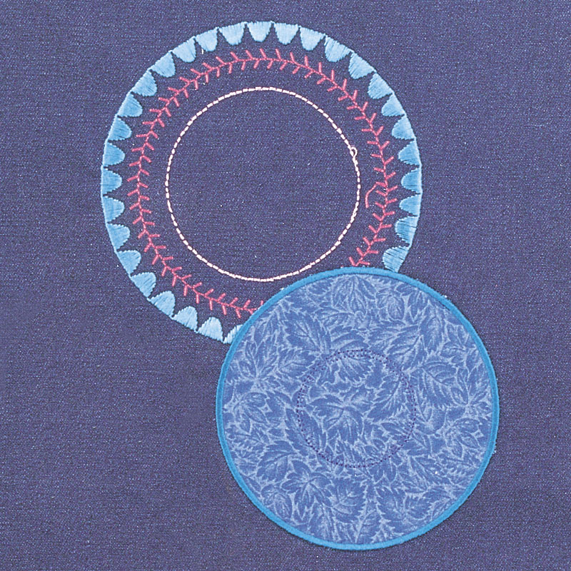 Circular embroidery attachment # 83