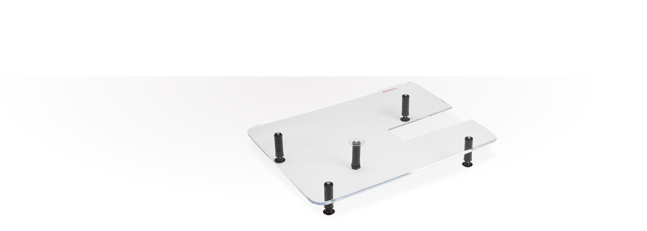 Bild: Plexiglass extension table for quilting
