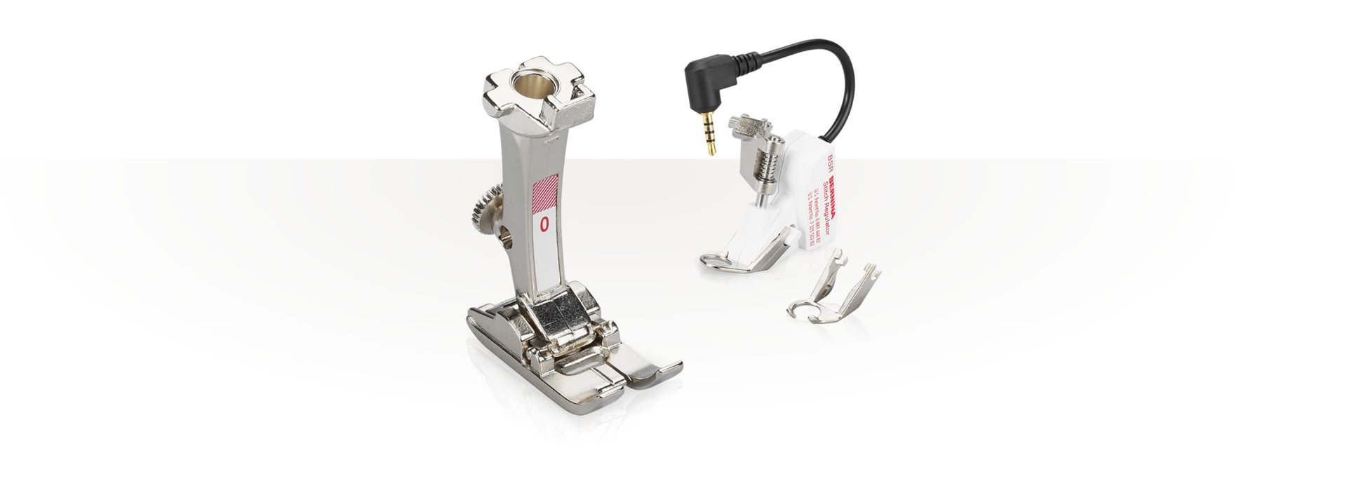 Picture: Information about BERNINA presser feet