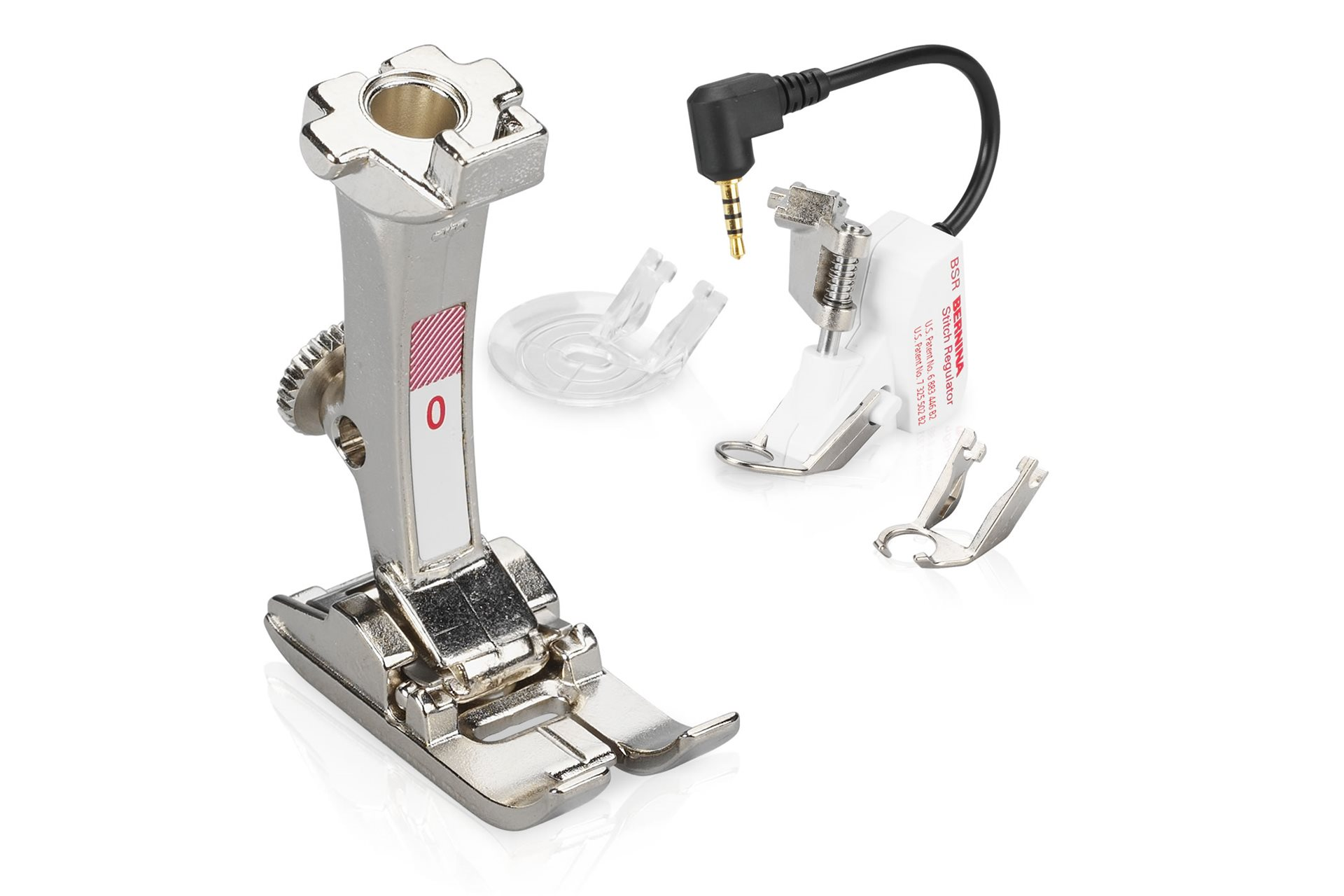 Information about BERNINA presser feet