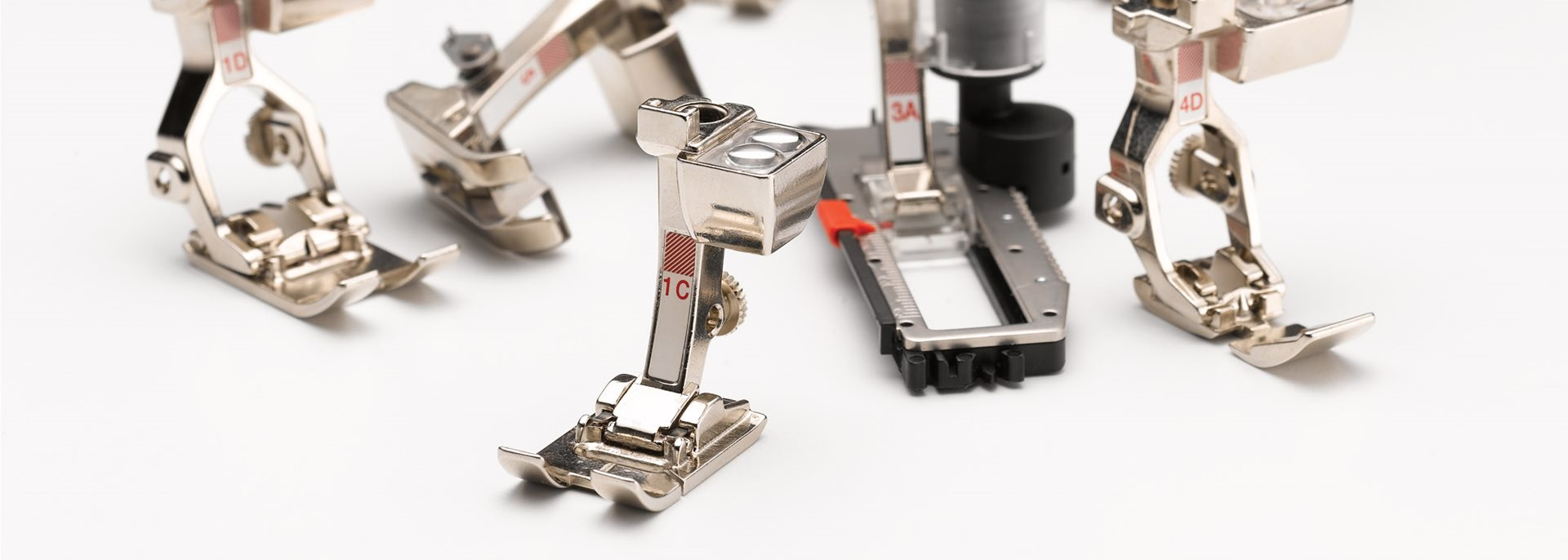 Presser feet for every purpose