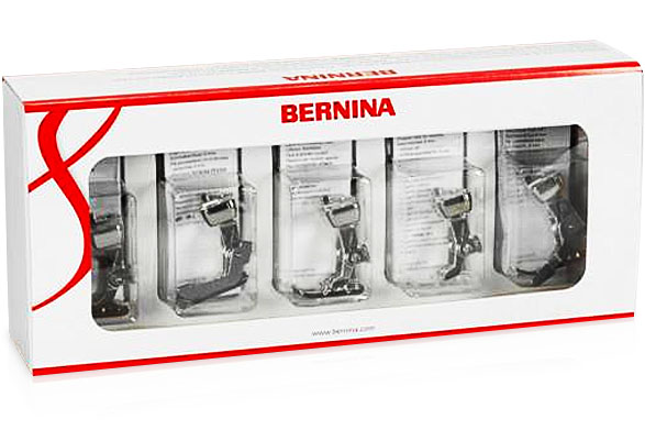 Presser foot set for BERNINA 7 and 8 Series