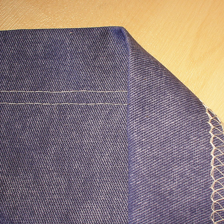 Coverstitch hem guide