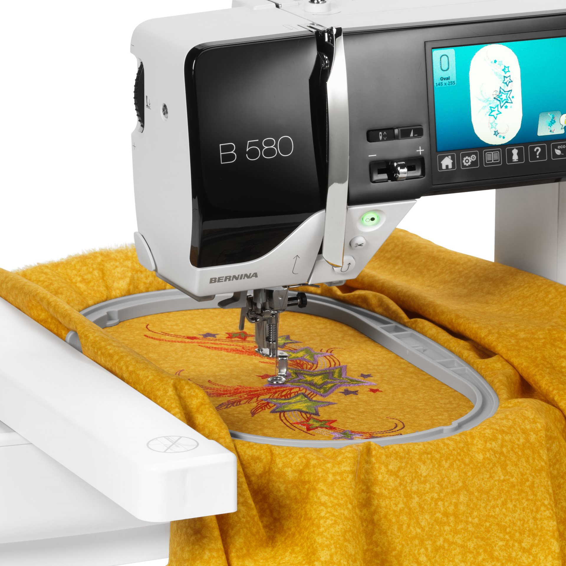 Bild: BERNINA embroidery module S