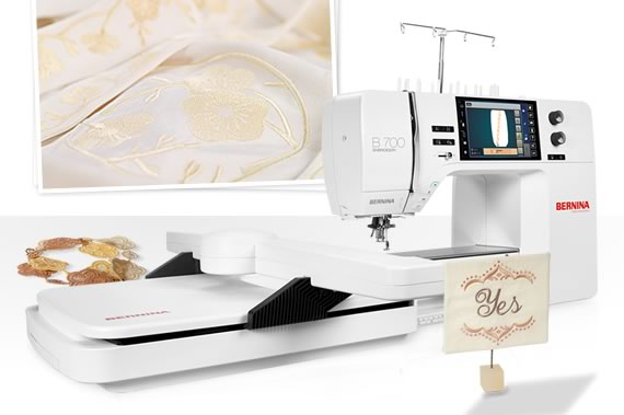 The year 2016: BERNINA's first embroidery only machine