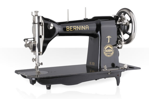 The sewing machine for use at home