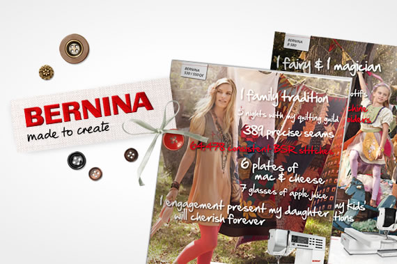 The year 2011: A new look for BERNINA