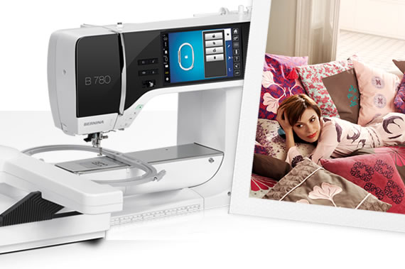The year 2012:  BERNINA 7 Series – Extended space for sewing, quilting and embroidering