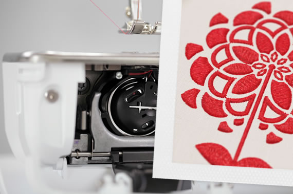 The year 2012: BERNINA 9 Hook – unlimited creativity