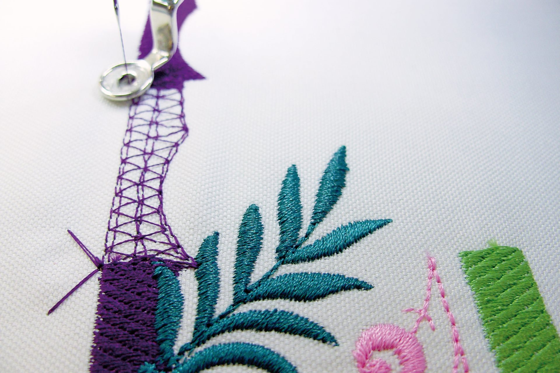 Embroidery tool tips
