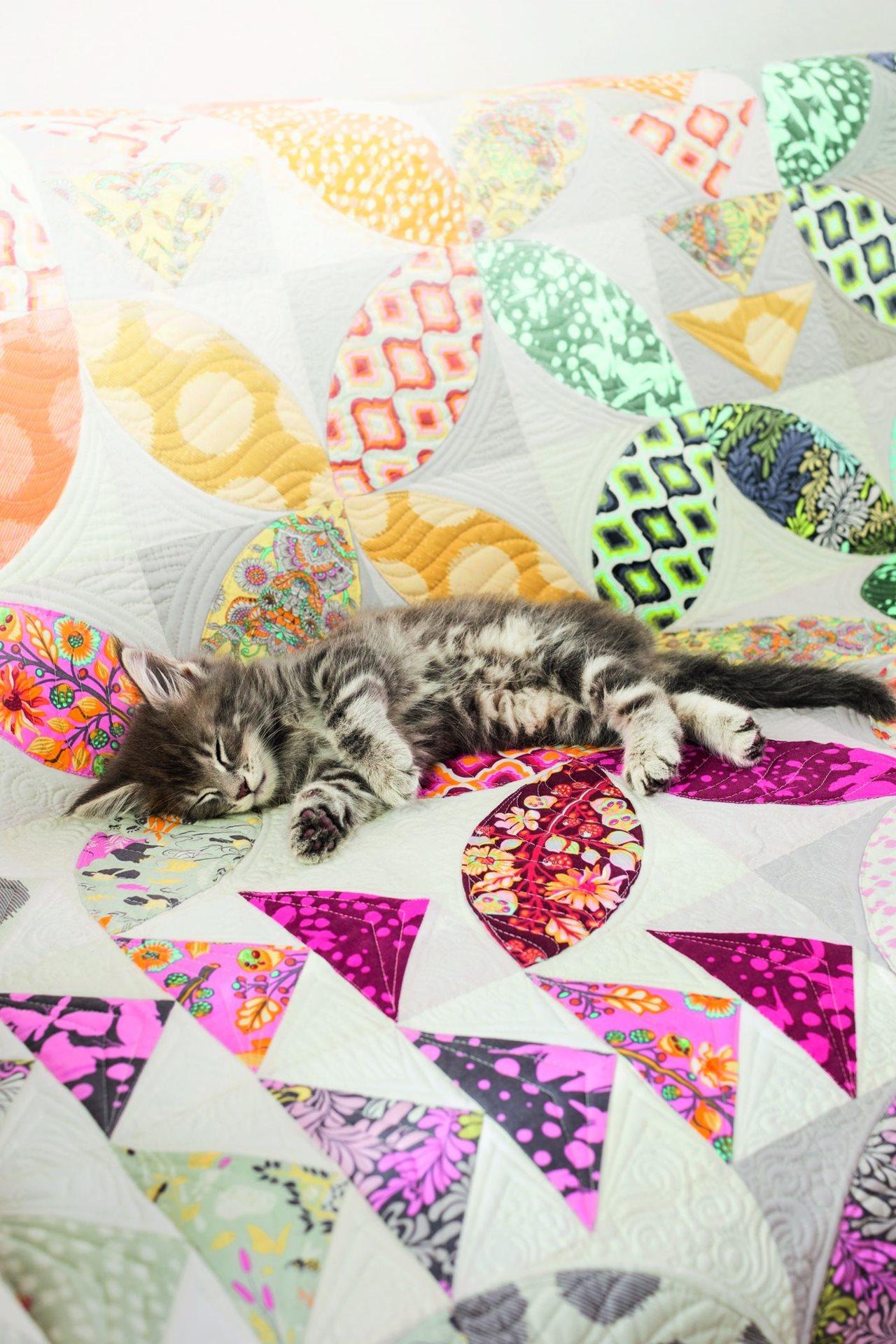 Quilt bird seed creatieve wereld bernina for Quilt maken met naaimachine
