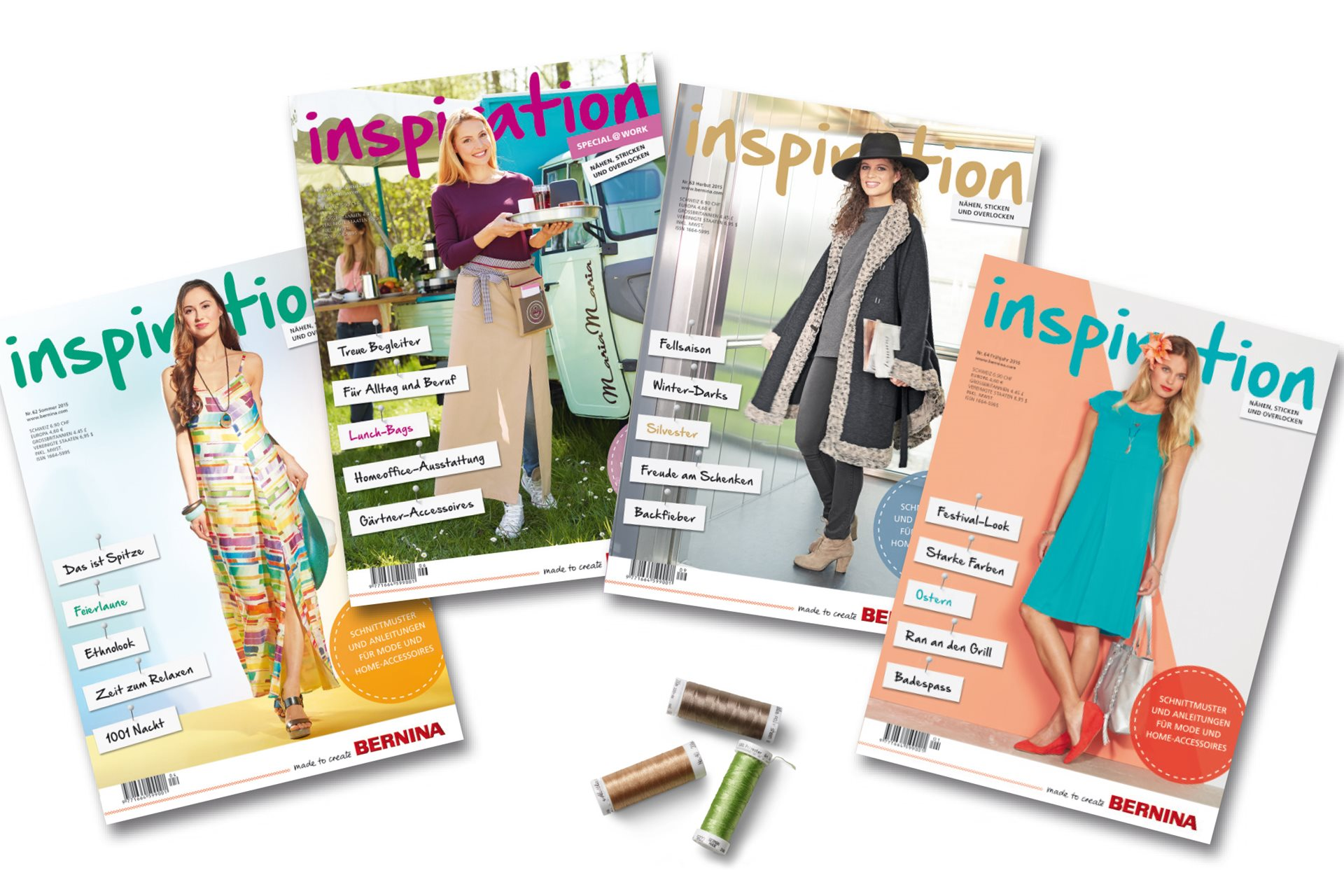 Le magazine « Inspiration » de BERNINA