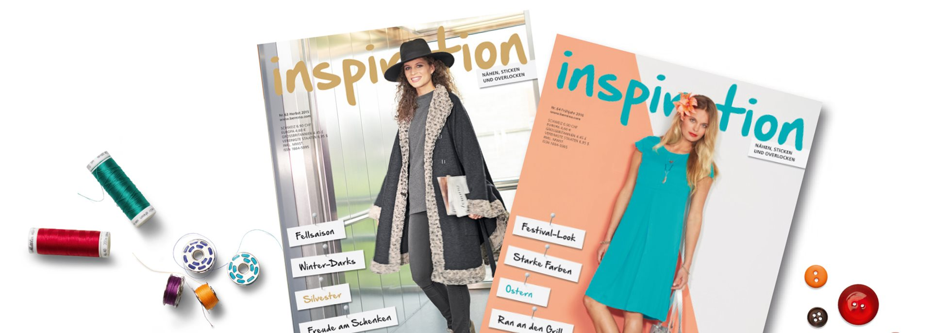 "Das BERNINA Magazin ""inspiration"":"