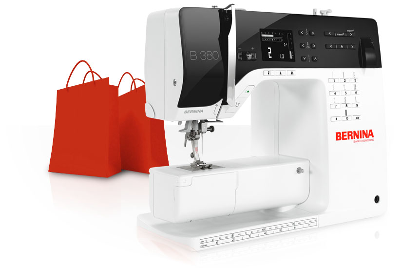 Promotions for BERNINA customers and fans.