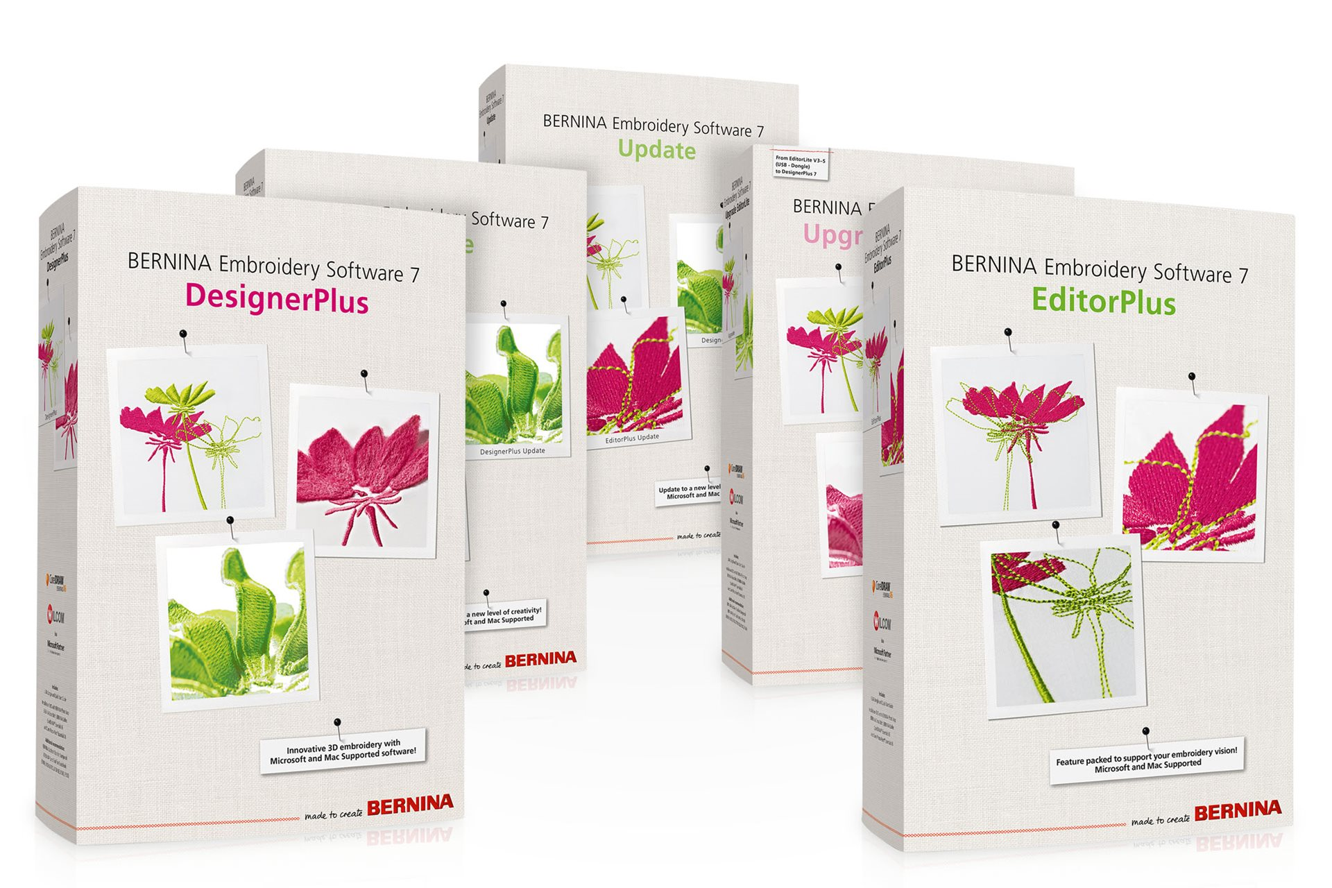 BERNINA Embroidery Software 7