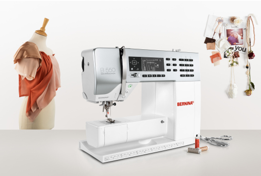 Picture: BERNINA launches the new 5 Series and presents recipes for success for DIY sewing enthusiasts  2/6