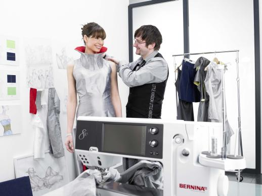 Picture: Launch of the BERNINA 830: BERNINA presents a new first-class sewing and embroidery system  4/11