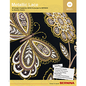 Metallic Lace – BERNINA Embroidery Collection #82011