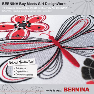 Boy Meets Girl DesignWorks – BERNINA DesignWorks Collection #21020