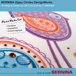 Zippy Circles DesignWorks– BERNINA DesignWorks Collection #21022