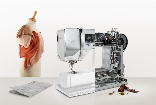 Picture: BERNINA launches the new 5 Series and presents recipes for success for DIY sewing enthusiasts  3/6