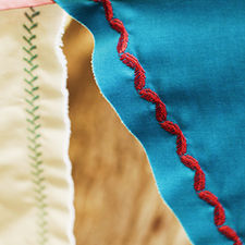 Extensive stitch library