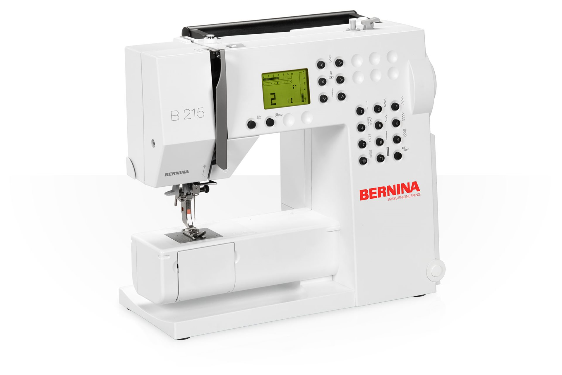 BERNINA 215 – easy handling down to the fine details - BERNINA