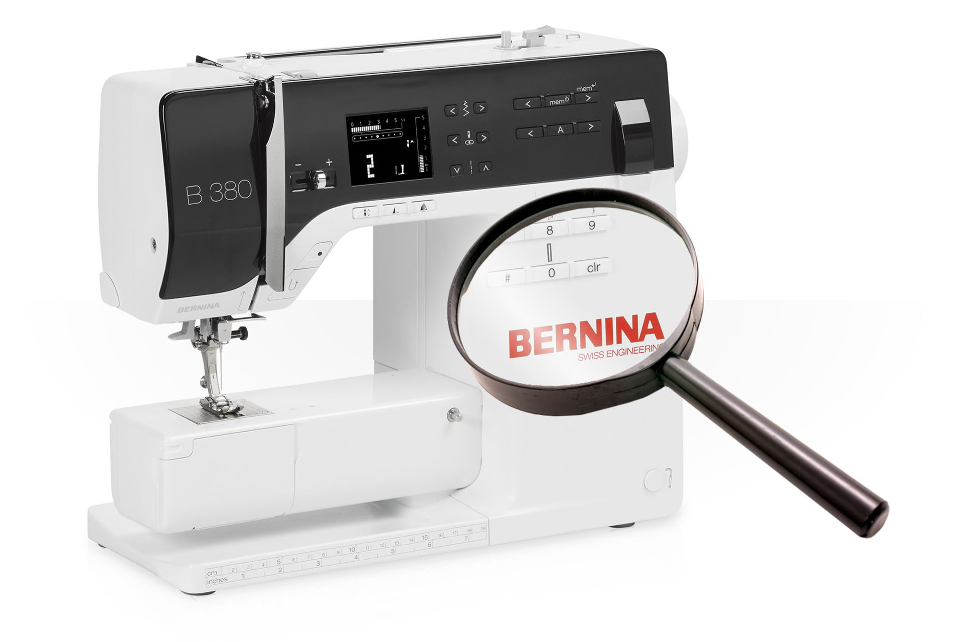 Search support info for BERNINA models