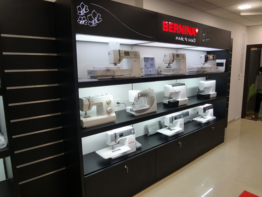 BERNINA India Showroom And BERNINA Creative Center Promos Events Classy Bernina Sewing Machine India